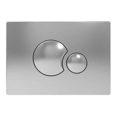 WC Rėmo Sanit ir pakabinamo klozeto Ravak Uni Chrome Rim komplektas 3