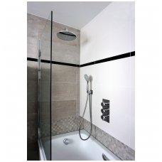 3 taškų potinkinė vonios sistema Omnires Y SYS YS01 su vonią pripildančiu sifonu