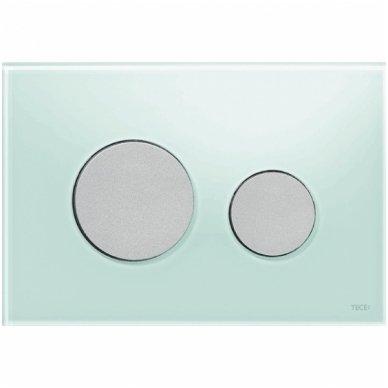 Vandens nuleidimo plokštelė Tece loop glass stikliniu paviršiumi 10