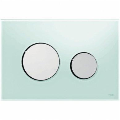 Vandens nuleidimo plokštelė Tece loop glass stikliniu paviršiumi 11