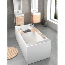 Akmens masės vonia PAA SilkStone Infinity