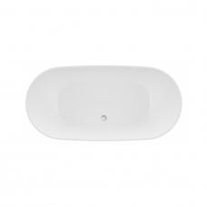 Akmens masės vonia VAEYR BALARA 1632x798 balta