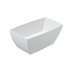Akmens masės vonia VAYER GEMINI 1450x750 balta