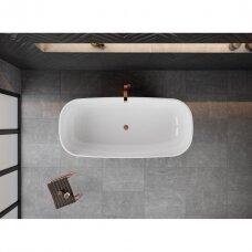 Akmens masės vonia VAYER SERPENS 2 1650X750