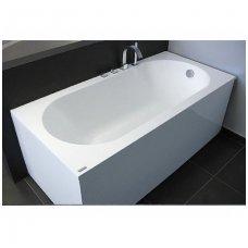 Akmens masės vonia Vispool Libero stačiakampė balta