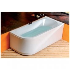 Akrilinė vonia Astra R 165x80 cm