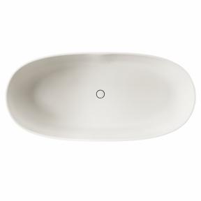 Akmens masės vonia PAA Bella iš Silkstone medžiagos 170x80