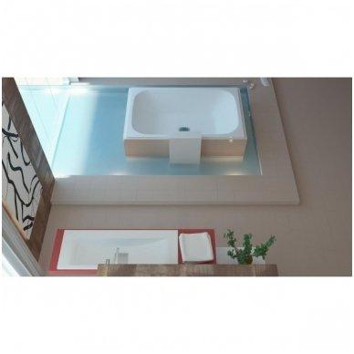 Akmens masės vonia Libero Duo 190x120