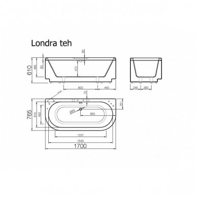 Akmens masės vonia Londra 1700x765 Vispool 5