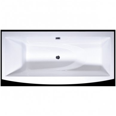 Akmens masės vonia Relax 169x81 Vispool 3