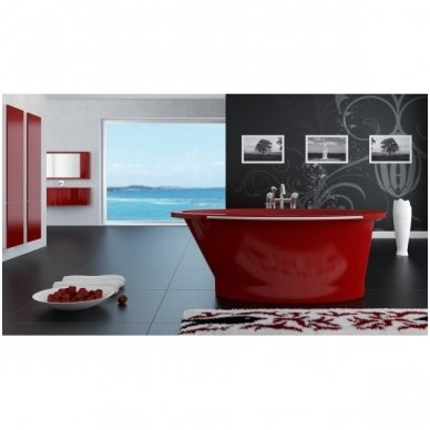 Akmens masės vonia Vispool SOLARE 1787x1075mm 9
