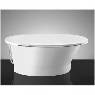Akmens masės vonia Vispool SOLARE 1787x1075mm 5