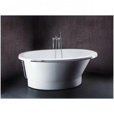 Akmens masės vonia Vispool SOLARE 1787x1075mm 2