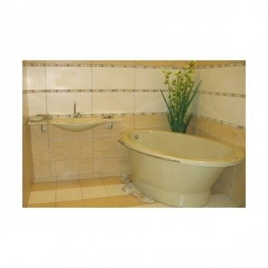 Akmens masės vonia Vispool SOLARE 1787x1075mm 4