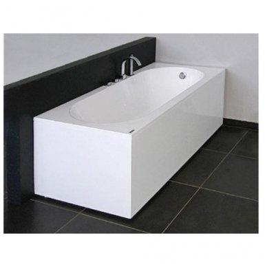 Akmens masės vonia Vispool Libero stačiakampė balta 5