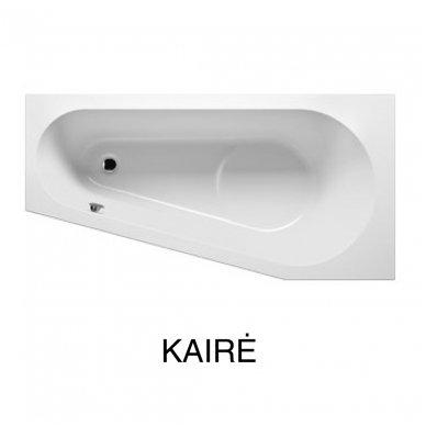 Akrilinė asimetrinė vonia RIHO DELTA 6