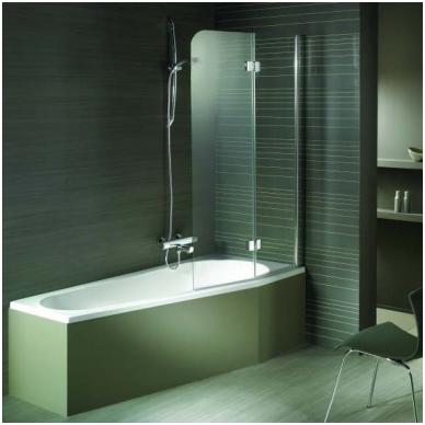 Akrilinė asimetrinė vonia RIHO DELTA 2