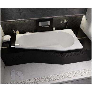 Akrilinė asimetrinė vonia RIHO DELTA