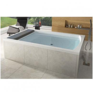 Akrilinė dvivietė vonia RIHO SAVONA 190x130 2
