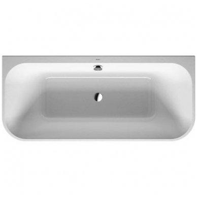 Akrilinė glaudžiama prie sienos vonia Duravit Happy D.2