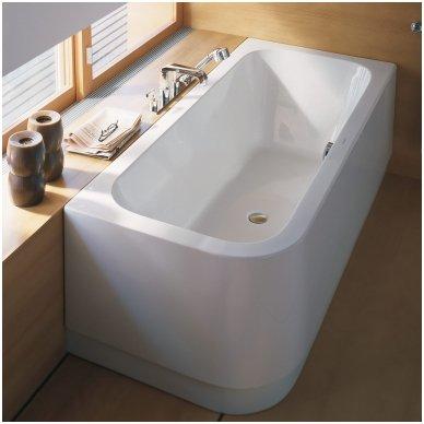 Akrilinė kampinė vonia Duravit Happy D.2 2