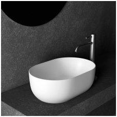 Ant stalviršio pastatomas praustuvas-dubuo Alice Ceramica Unica 450x310 mm