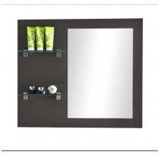 Antado veidrodis su lentynėlėmis