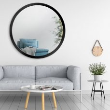 Apvalus veidrodis Ruke Scandinavia Bold plačiame rėmelyje (spalvų ir dydžių pasirinkimas)