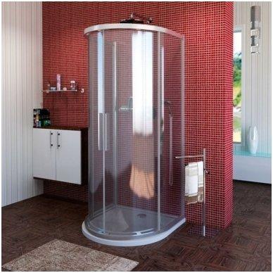 Apvali dušo kabina Polysan Lucis Line