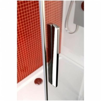 Apvali dušo kabina Polysan Lucis Line 9