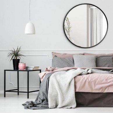 Apvalus veidrodis Ruke Scandinavia (spalvų ir dydžių pasirinkimas)