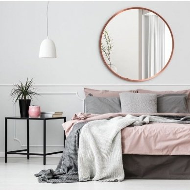 Apvalus veidrodis Ruke Scandinavia (spalvų ir dydžių pasirinkimas) 2