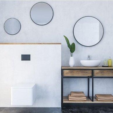 Apvalus veidrodis Ruke Scandinavia (spalvų ir dydžių pasirinkimas) 6