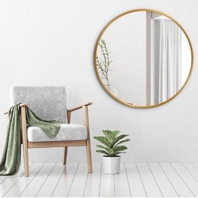 Apvalus veidrodis Ruke Scandinavia (spalvų ir dydžių pasirinkimas) 3