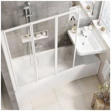 Asimetrinė akrilinė vonia Ravak BeHappy II