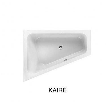 Asimetrinė akrilinė vonia Villeroy&Boch Loob&Friends Square 175x135 4