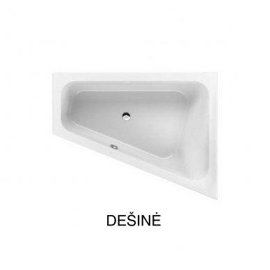 Asimetrinė akrilinė vonia Villeroy&Boch Loob&Friends Square 175x135 3