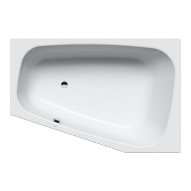 Asimetrinė plieninė vonia Kaldewei Plaza Duo 180x120 5