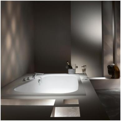 Asimetrinė plieninė vonia Kaldewei Plaza Duo 180x120 4