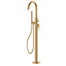 Aukso spalvos grindinis maišytuvas voniai Omnires Y1233