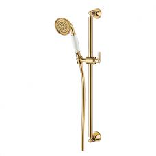 Aukso spalvos rankinio dušo komplektas Omnires ARMANCE-SGL
