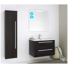 Raguvos Baldai trijų dalių komplektas su veidrodžiu ir šviestuvu Serena 75