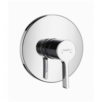 Dekoratyvinė dalis Hansgrohe Metris S potinkiniam dušo maišytuvui