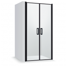 Dušo durys Baltijos Brasta GERDA Nero Frame