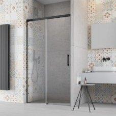 Dušo durys Radaway Idea Black DWJ (dydžių pasirinkimas)