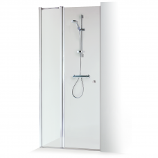 Dušo sienelė nišoms GRETA PLIUS 90x90 skaidriu stiklu