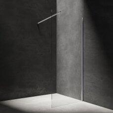 Dušo sienėlė Omnires Marina chromo profiliu (pločių pasirinkimas)