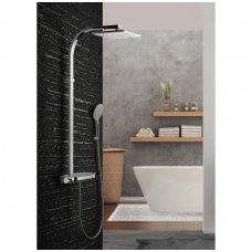 Termostatinė dušo sistema Paffoni Moby rain shower
