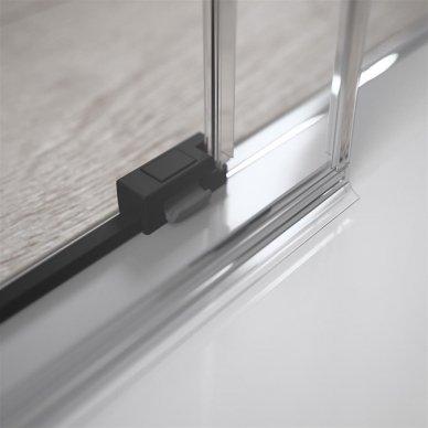 Dušo durys Radaway Idea Black DWJ (dydžių pasirinkimas) 3