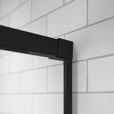 Dušo kabina Radaway Idea Black KDD (dydžių pasirinkimas) 3